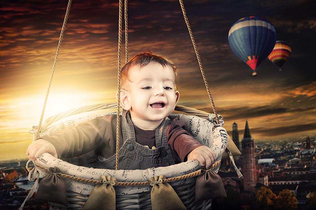Fotografía creativa de bebes 01